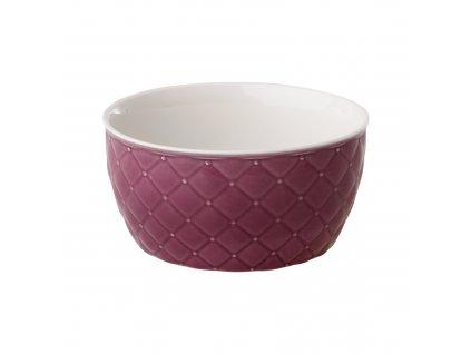 Salátová mísa Glamour Quilted Violet 13,5 cm AMBITION