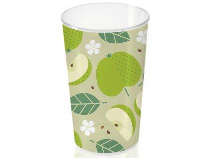 Plastový kelímek Apples 250 ml BRANQ