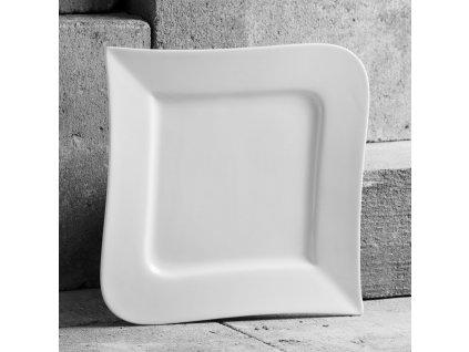 Mělký talíř Fala 24,5 x 24,5 cm AMBITION