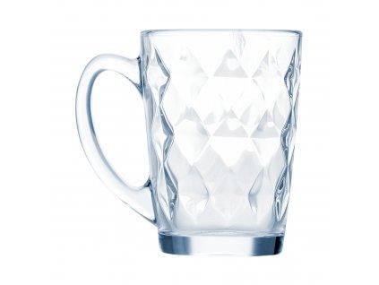 Skleněný hrnek New Morning Diamond 320 ml LUMINARC