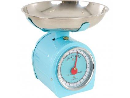Kuchyňská váha Blue s červenou ručičkou 5 kg AMBITION