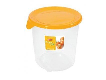 Nádobka na potraviny s víčkem Fresh & Go Yellow 1 l CURVER
