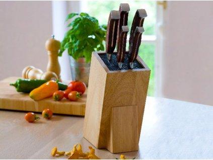 Stojan / blok na nože s trávou Lord 10 x 10 x 26 cm AMBITION