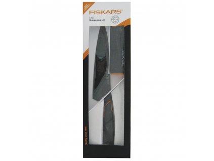 Kuchyňský nůž a bruska Edge FISKARS