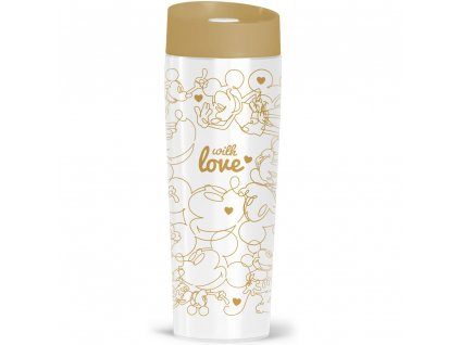 Termohrnek Mickey Gold Hearts 400 ml DISNEY