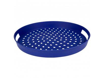 Plastový tác s úchyty Blue 38 x 4,2 cm