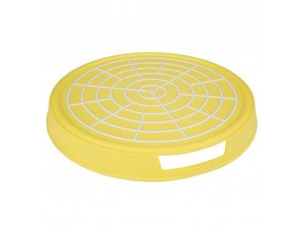 Plastový tác s úchyty Yellow 35 x 4,2 cm