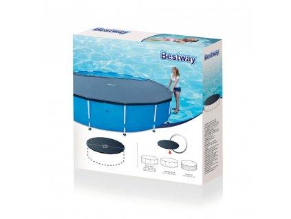 Kryt na nadzemní bazén 366 cm BESTWAY