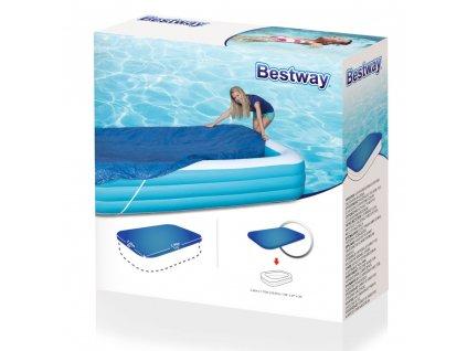 Kryt na nadzemní bazén 262 x 175 cm BESTWAY