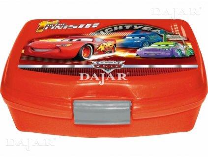 Melaminový svačinový box Cars II DISNEY