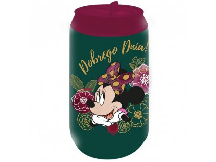 Termoplechovka Minnie Flowers Green 250 ml DISNEY PL NÁPISY