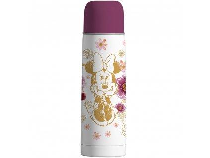 Termos Minnie Flowers Gold 500 ml DISNEY PL NÁPISY