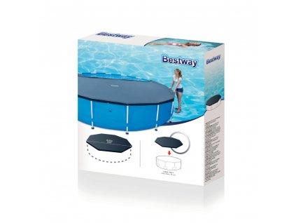 Kryt na nadzemní bazén 305 cm BESTWAY
