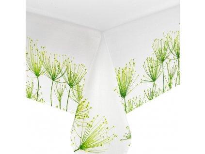 Dekorační ubrus z polyesteru Green Garden 160 x 280 cm AMBITION