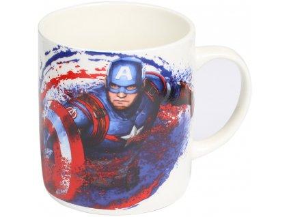 Porcelánový hrnek Captain America Avengers 460 ml MARVEL