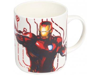 Porcelánový hrnek Iron Man Avengers 460 ml MARVEL