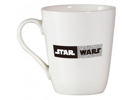 Porcelánový hrnek Trooper Brokat Silver 400 ml STAR WARS