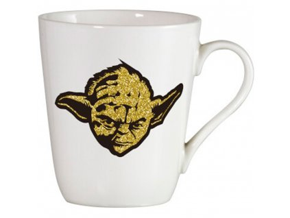 Porcelánový hrnek Jedi Brokat Gold 400 ml STAR WARS