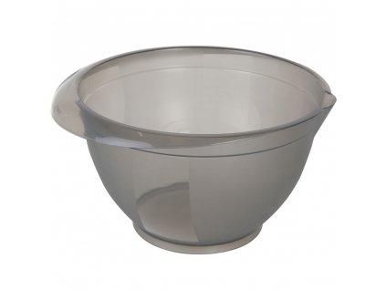 Sada 3 plastových, kuchyňských misek Cindy Gray 1 / 2 / 3 l DOMOTTI