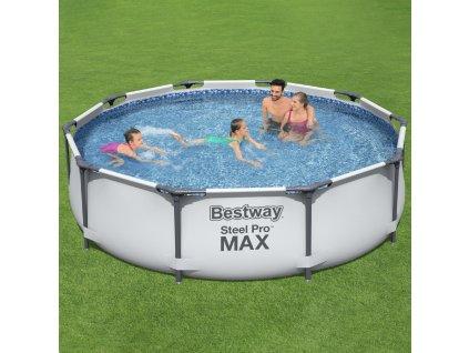 Nadzemní bazén Steel Pro 457 x 107 cm 14970 l 5v1 BESTWAY