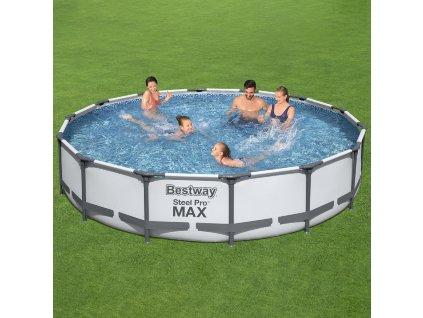 Nadzemní bazén Steel Pro Max 3v1 427 x 84 cm BESTWAY