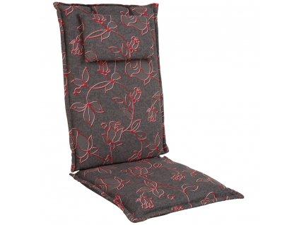 Sedák na křeslo Premium Hoch s povlakem na zips 7 cm A021-03HB PATIO