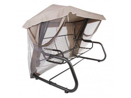 Stříška s moskytiérou na houpačku Rimini / Venezia Cappucino D031-15CW PATIO
