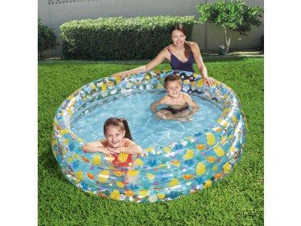 Nafukovací bazén Tropical Play 170 x 53 cm BESTWAY