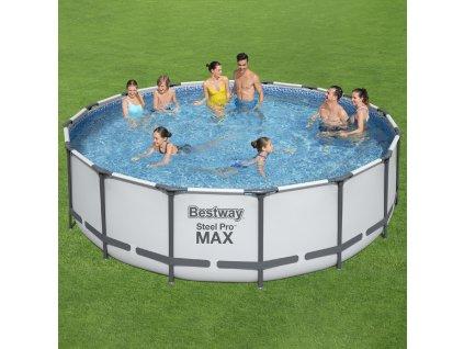Nadzemní bazén 5v1 Steel Pro Max 457 x 122 cm BESTWAY