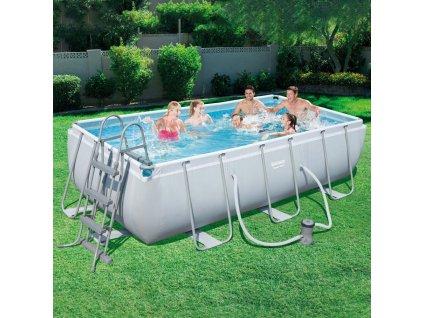 Nadzemní bazén Power Steel 404 x 201 x 100 cm BESTWAY