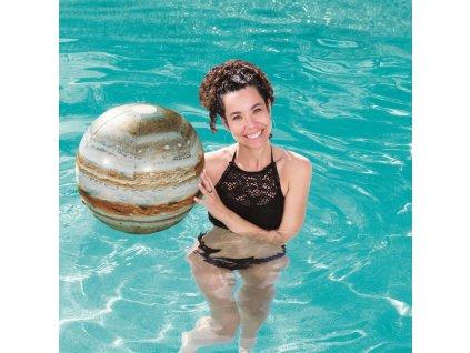 Nafukovací plážový míč Glowball Jupiter Explorer 61 cm BESTWAY