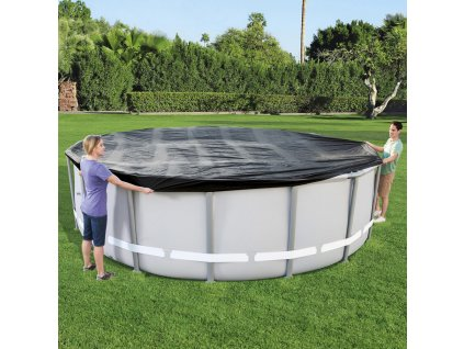 Kryt na kulatý nadzemní bazén 488 cm BESTWAY