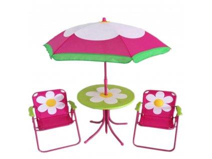 Souprava dětského zahradního nábytku Flower PATIO