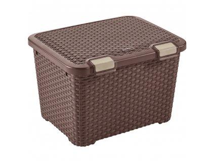 Univerzální skříňka / box Style Brown 50 x 40 x 33 cm, 43 l CURVER