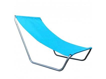 Skládací plážové lehátko Caldo Blue PATIO