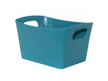 Košík Vito L Turquoise 29 x 19,5 x 15 cm JOTTA