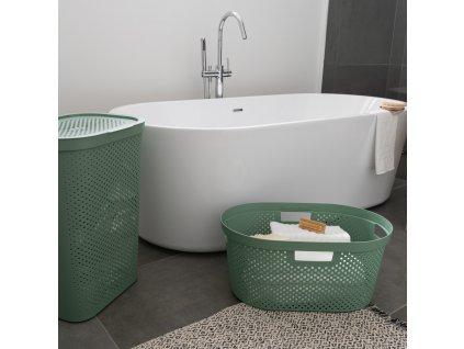 Prádelní koš Infinity 100% Recykling Eko Green 40 l CURVER