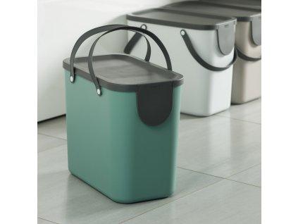 Odpadkový koš na tříděný odpad Albula Green 25 l ROTHO