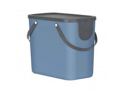 Odpadkový koš na tříděný odpad Albula Blue 25 l ROTHO