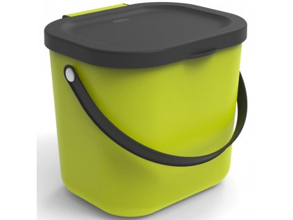 Odpadkový koš na tříděný odpad /na BIO odpad Albula Lime 6 l ROTHO