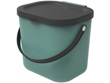 Odpadkový koš na tříděný odpad /na BIO odpad Albula Green 6 l ROTHO
