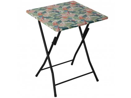 Skládací zahradní stůl Flower Tropical 60 x 60 cm PATIO