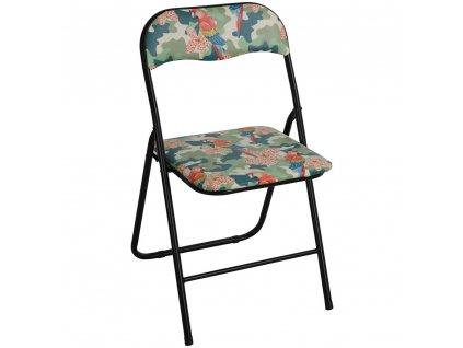 Skládací zahradní židle Flower Tropical PATIO