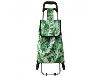 Nákupní taška na kolečkách Tropical