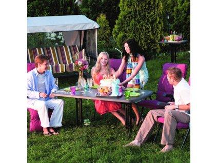 Zahradní stůl Dine & Relax Pizarra 132 x 90 cm PATIO