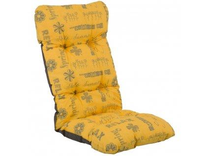 Sedák na křeslo Malaga 6 / 8 cm F014-05PB PATIO
