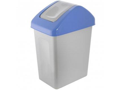 Koš na tříděný odpad PAPÍR Blue 25 l BRANQ