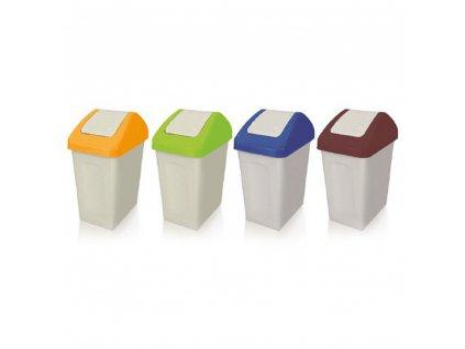 Koš na tříděný odpad PLAST Yellow 25 l BRANQ