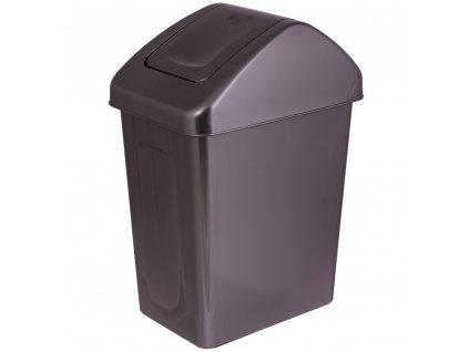 Odpadkový koš Antracit pearl 25 l BRANQ