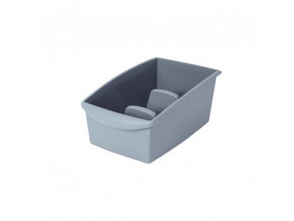 Modrá nádobka na segregaci sáčkového koření 22 x 16 x 11 cm DOMOTTI